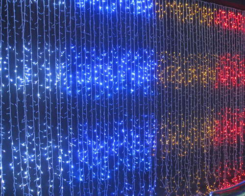 led waterfall lights - Waterfall Christmas Lights